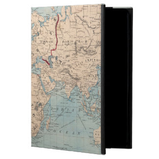 Map of the world on Mercator's projection iPad Air Case