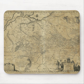 Map of Ukraine (1648) Mouse Pad