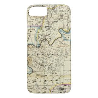 Map of Venango County Oil Regions iPhone 7 Case