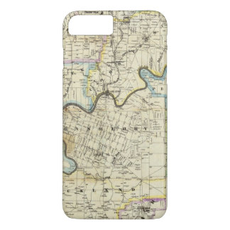 Map of Venango County Oil Regions iPhone 7 Plus Case