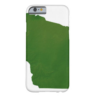 Map of Wisconsin Barely There iPhone 6 Case