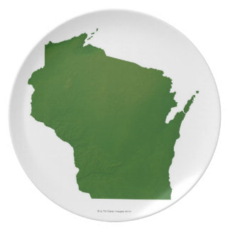 Map of Wisconsin Plate