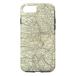 Map Ohio and Mississippi Railway iPhone 7 Case