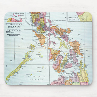 MAP: PHILIPPINES, 1905 MOUSE PAD