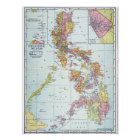 MAP: PHILIPPINES, 1905 POSTER