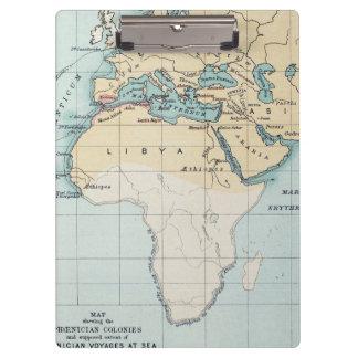 MAP: PHOENICIAN EMPIRE CLIPBOARDS