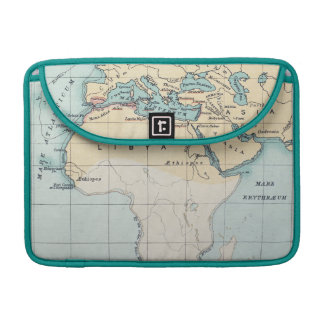MAP: PHOENICIAN EMPIRE SLEEVES FOR MacBook PRO