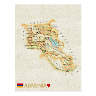 MAP POSTCARDS ♥ Armenia