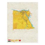MAP POSTCARDS ♥ Egypt
