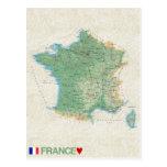 MAP POSTCARDS ♥ France