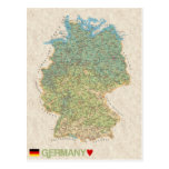 MAP POSTCARDS ♥ Germany