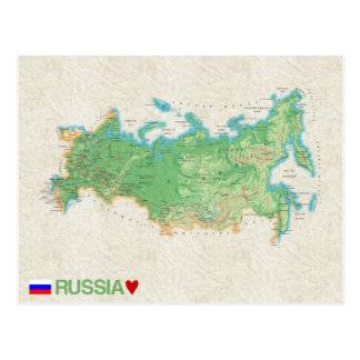 MAP POSTCARDS ♥ Russia