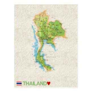 MAP POSTCARDS ♥ Thailand