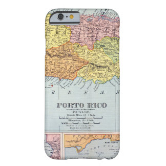 MAP: PUERTO RICO, 1900 BARELY THERE iPhone 6 CASE