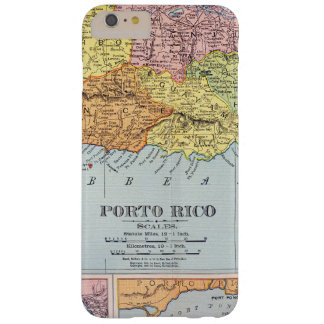 MAP: PUERTO RICO, 1900 BARELY THERE iPhone 6 PLUS CASE