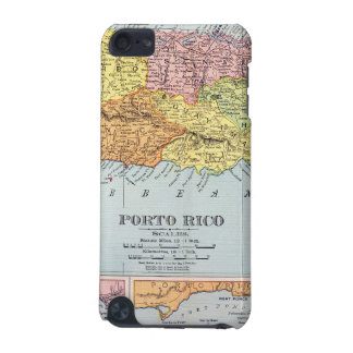 MAP: PUERTO RICO, 1900 iPod TOUCH (5TH GENERATION) CASE