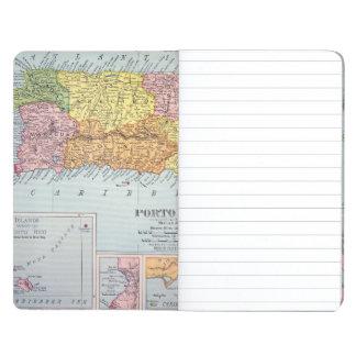 MAP: PUERTO RICO, 1900 JOURNALS
