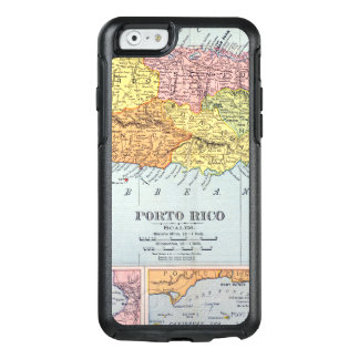 MAP: PUERTO RICO, 1900 OtterBox iPhone 6/6S CASE