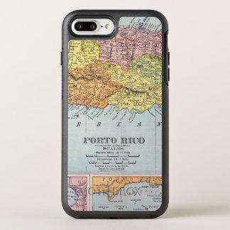 MAP: PUERTO RICO, 1900 OtterBox SYMMETRY iPhone 7 PLUS CASE