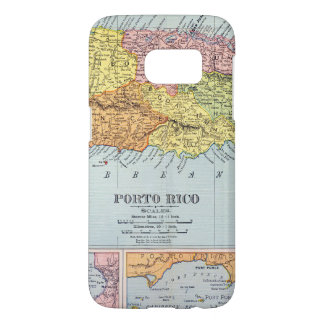 MAP: PUERTO RICO, 1900 SAMSUNG GALAXY S7 CASE