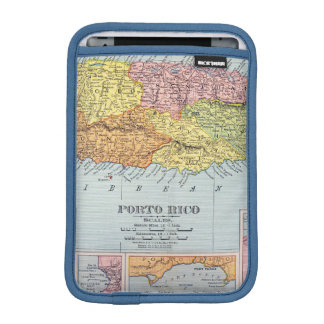 MAP: PUERTO RICO, 1900 SLEEVE FOR iPad MINI