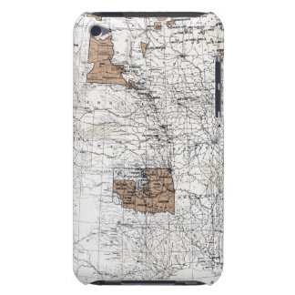 MAP: RESERVATIONS, 1888 iPod TOUCH Case-Mate CASE