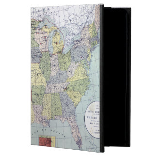 MAP: RESERVATIONS, 1892 iPad AIR CASES