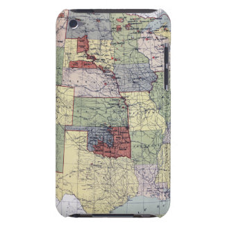 MAP: RESERVATIONS, 1892 iPod Case-Mate CASE