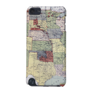 MAP: RESERVATIONS, 1892 iPod TOUCH (5TH GENERATION) CASE