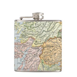 MAP: SCOTLAND FLASKS