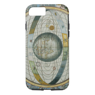 Map Showing Tycho Brahe's System of Planetary Orbi iPhone 7 Case