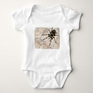 map spider baby bodysuit
