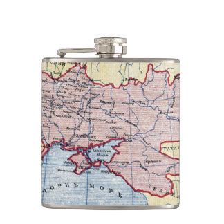 MAP: UKRAINE, c1906 Flasks