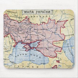 MAP: UKRAINE, c1906 Mouse Pad