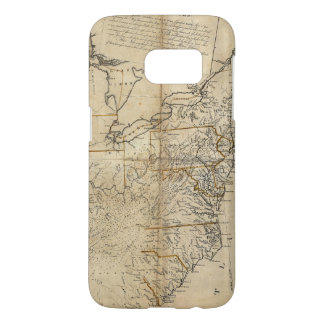 MAP: USA, 1783 SAMSUNG GALAXY S7 CASE