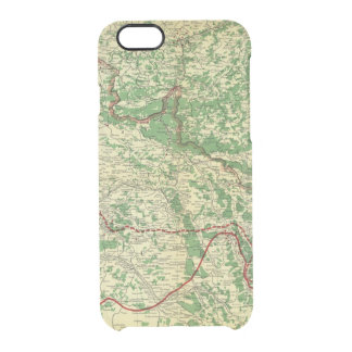 Map Western Front Clear iPhone 6/6S Case