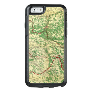 Map Western Front OtterBox iPhone 6/6s Case