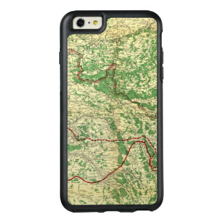 Map Western Front OtterBox iPhone 6/6s Plus Case