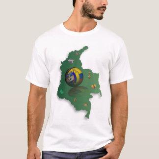 mapa-colombiacolor T-Shirt