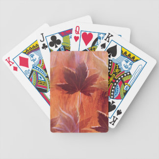 Maple Dream Bicycle Playing Cards