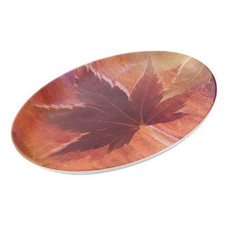 Maple Dream Porcelain Serving Platter