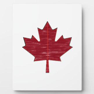 Maple Fever Plaque