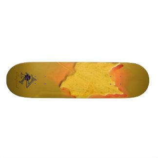 Maple Gold Skateboard Deck