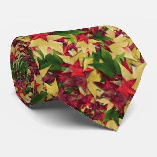 Maple in autumn tie