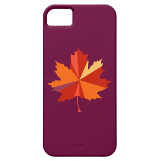 Maple Leaf Art iPhone 5 Cover