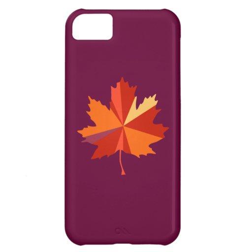 Maple Leaf Art iPhone 5C Covers