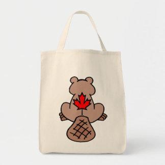 Maple Leaf Beaver Bag