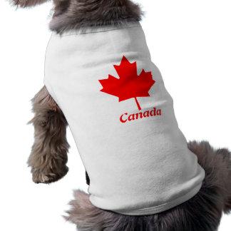 Maple Leaf Canada Doggie Tshirt