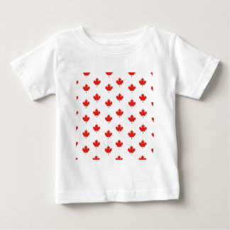 Maple Leaf Canada Emblem Country Nation Day Baby T-Shirt