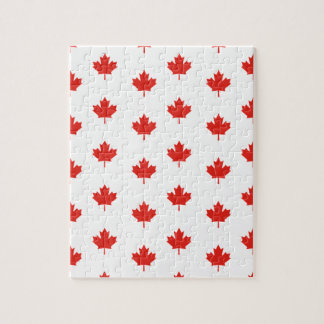 Maple Leaf Canada Emblem Country Nation Day Jigsaw Puzzle